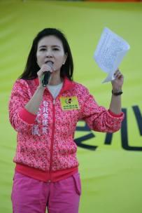 台北市議員 王欣儀 「我們要做的事情由我們自己來爭取,希望政府能真正聽到人民的怒吼、大家的聲音,儘速改革。」