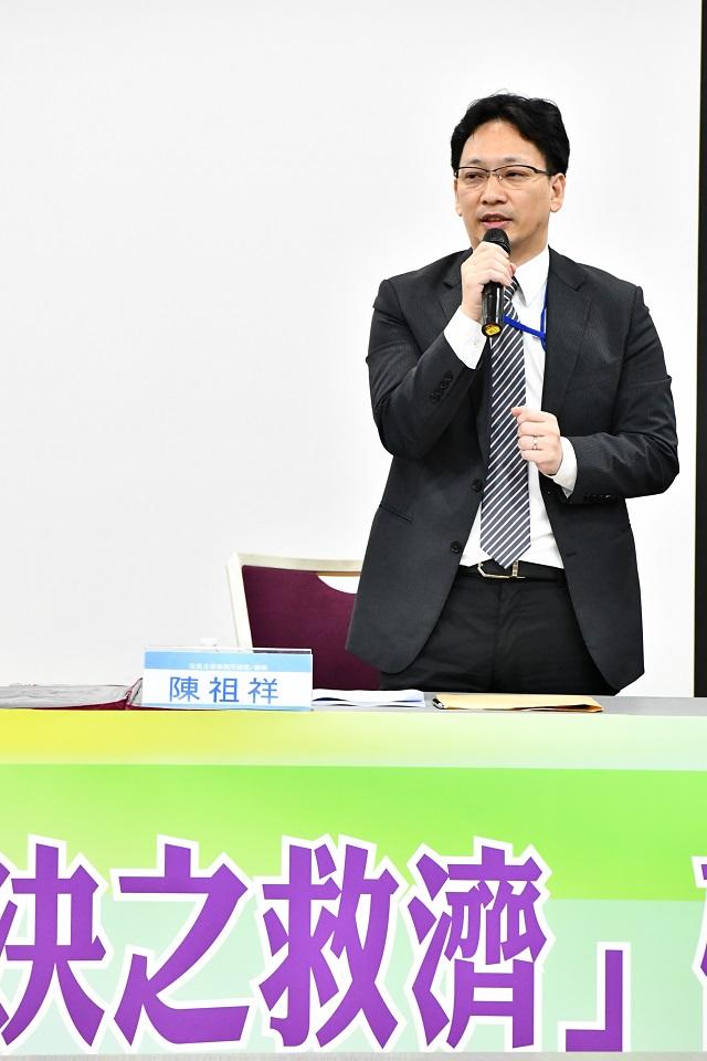 浩信法律事務所總監陳祖祥律師控訴「勝訴了又如何?行政機關一錯再錯,卻沒有人須要負責」。